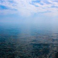 Озеро Ыссык-Куль. 7:00 утра :: Людмила Бадина