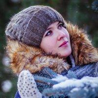 в Минске-первый снег :: Константин Король
