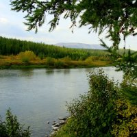 Река Собь :: Tata Wolf