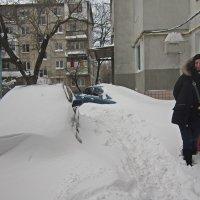 Снегопад в Одессе :: Людмила
