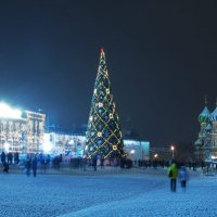 Москва новогодняя :: sergej-smv