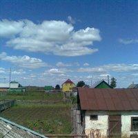 Вид с крыши - облака :: Владимир Ростовский