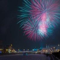 Новогодний салют в Москве :: Кирилл Малов