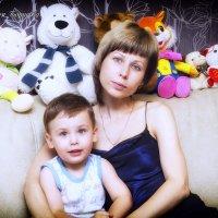 Мама с сыном :: Алексей Борисов