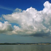 Корфу под облаком :: Алексей Меринов