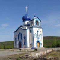 Храм в Синегорье. Магаданская область. :: Андрей Франчковский