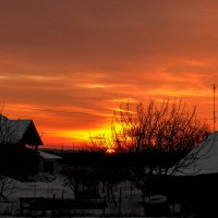 Зимний закат :: роман