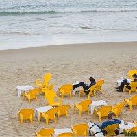 На пляже зимой :: Lmark