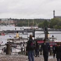 Вид с площади Stortorget :: Александр Рябчиков