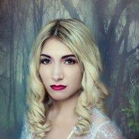 """""""Алиса в стране чудес""""  Белая королева :: Анна Николайчук"""