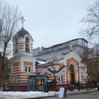 Храм-часовня Архангела Михаила близ Кутузовской избы,что в Филях г.Москвы :: Galina Leskova