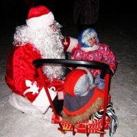 Дед Мороз и дети . :: Мила Бовкун
