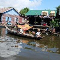Камбоджа. Плавучая деревня озера Толесап. :: Rafael