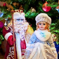 Новогодняя парочка :: Геннадий Тимохин
