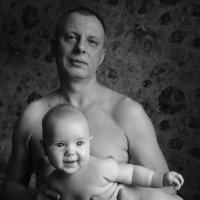 папа с сыном :: Tanya Kozhevnikova