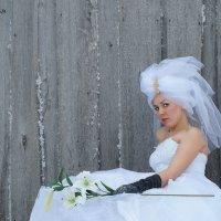 любимая надела снова свадебное платье... :: Ильназ Фархутдинов