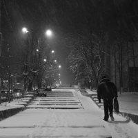 снегопад :: Валерия Бобровская