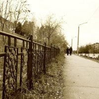 Городской пейзаж :: Светлана Игнатьева