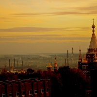 Вечер над любимым городом :: Владимир Максимов