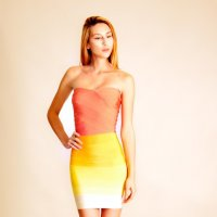 Реклама платья :: Кристина Бессонова