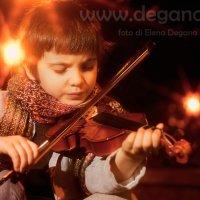 Скрипач :: Elena Degano