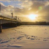 Литейный мост. Зимний Петербург. :: Сергей Еремин