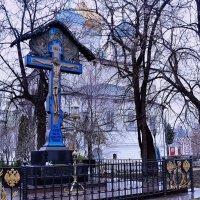 Крест в Новоспасском соборе :: Владимир Болдырев
