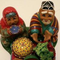 Восточный базар (глиняные фигурки ручной работы) :: Татьяна Буркина