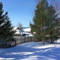 Зима в деревне :: Валерий Талашов