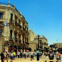 Иерусалим. Старый город. Туристы направляются к Святым местам :: Александра