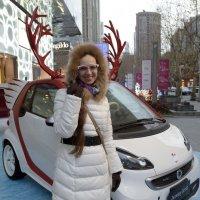 Шанхайская снегурочка. :: Андрей Фиронов