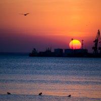 закат Бердянск :: Анастасия Шилова