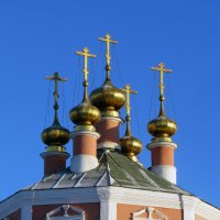 Купола Казанской церкви :: Нина Синица
