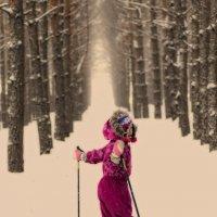 Сибиряк-значит лыжник :: Елена Баландина