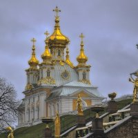 А купола в России крыли золотом.. :: Марина Волкова