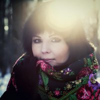 *** Анютка... зимний портрет *** :: Alex Lipchansky