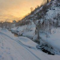 Солнце садится :: Валентин Котляров