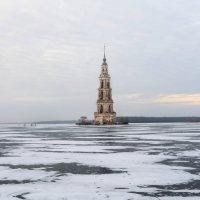Затопленная колокольня. :: Джесур Кючюк