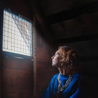 Девица в темнице :: Elena Shelukhanova