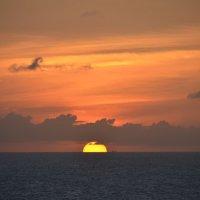 Карибское море. Закат :: Елена Данилина