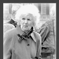 портрет незнакомой петербурженки 9 мая 2014 г. :: sv.kaschuk