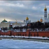 Москва златоглавая :: Дмитрий Анцыферов