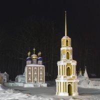 макет рязанского кремля парк отель фестиваль :: Денис Шевчук