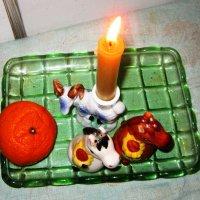 Свеча горела на столе , свеча горела ! :: Мила Бовкун