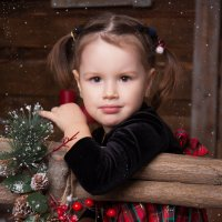 Деревенская девчушка) :: Анастасия Михалева