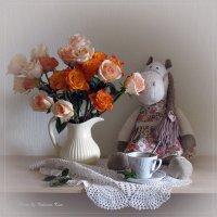 С розами и лошадкой :: Татьяна Ким