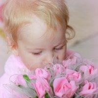 в нежно-розовых тонах :: Tatyana Belova