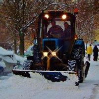 Снег в Москве :: Валентина Пирогова