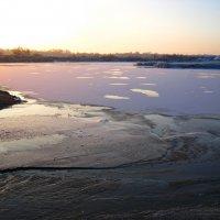 , Озеро, зима.. :: Антонина Гугаева