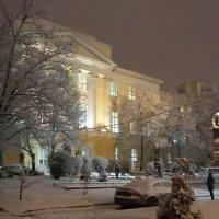 МГУ журфак под снегом :: Ярослава Машукова